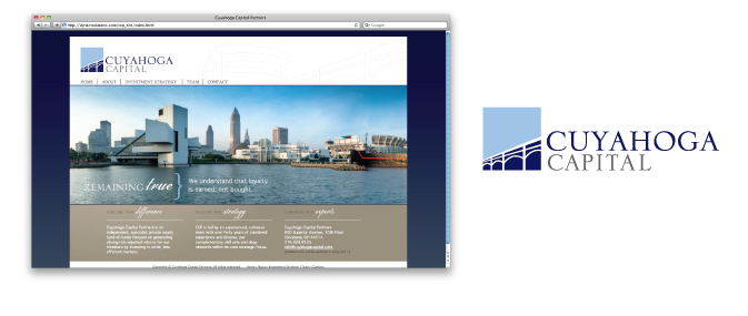Cuyahoga Capital Partners Branding and Website